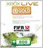 MICROSOFT Xbox Live Card FIFA 12 12 months + 800 points (Accessories)