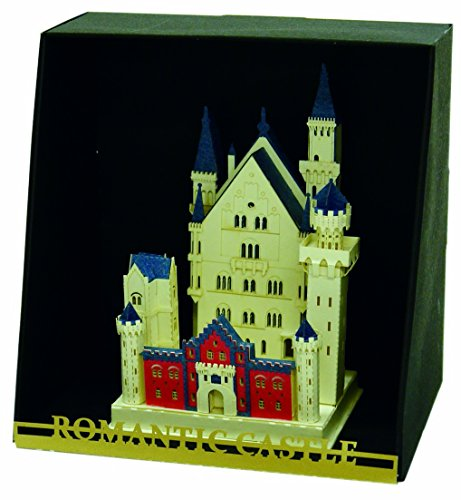 Nanoblock Paper Nano - Neuschwanstein Castle Model Kit (Castle Paper Model compare prices)