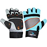 Mayor Granada Gym Gloves Aqua Blue / Black