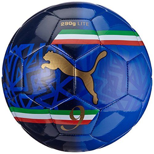 Pallone da calcio PUMA ultima Lite 2 Players Ball, Team potenza Blue/New Navy/Team oro/MB, 4, 082596 05