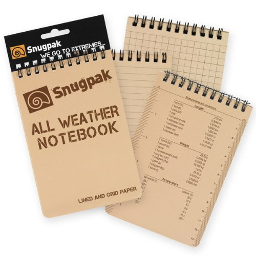 "All Weather Notebook 4"" X 8"" Dt"