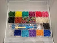 The Ultimate Rainbow Loom Complete Collection Kit with 5400 Bandz & Case by EPD