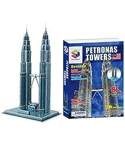 Magic Puzzles 3D Puzzle Petronas Towers