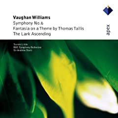 Vaughan Williams : Symphony No.6, Fantasia On A Theme By Thomas Tallis & The Lark Ascending - Apex