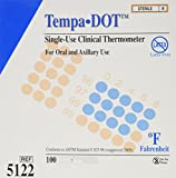 Tempa-dot Disposable Thermometer Sterile, 100 Count
