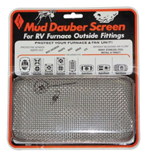JCJ M-200 Mud Dauber Screen for RV furnace Outside Fitting (Rv Heater Vent Cover compare prices)