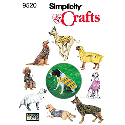 Simplicity Sewing Pattern 9520 Crafts One