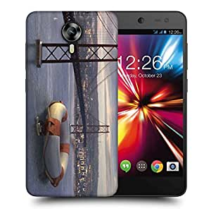 Snoogg Big Tube Printed Protective Phone Back Case Cover For Micromax Canvas Nitro 4G
