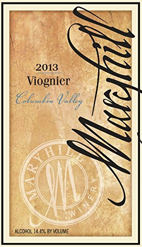 2013 Maryhill Winery Viognier 750 Ml