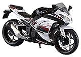 スカイネット 1/12 完成品バイク kawasaki Ninja250 ホワイト SE