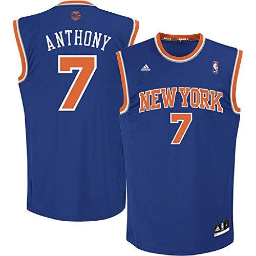 Carmelo Anthony New York Knicks Blue - Away NBA Kids 2014-15 Revolution 30 Replica Jersey (Kids 4) (New York Knicks Jersey Kids compare prices)