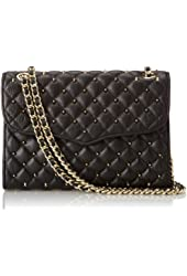 Rebecca Minkoff Quilted Affair With Studs Shoulder Handbag
