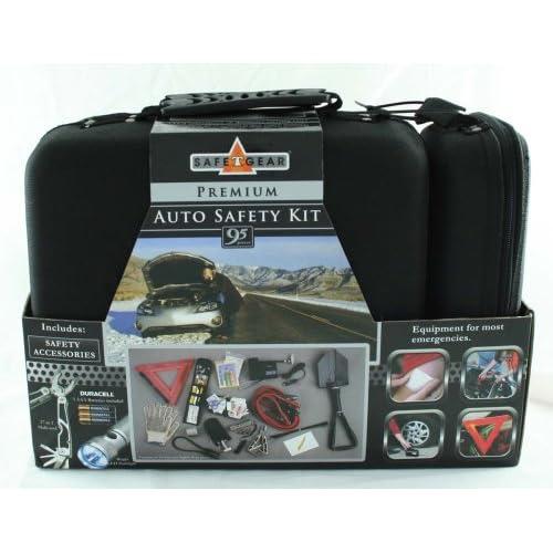 safe t gear premium auto safety kit 95 pieces. Black Bedroom Furniture Sets. Home Design Ideas