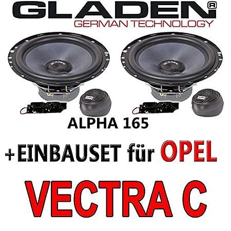 Opel vectra c-gladen 16-aLPHA 165 cm-système composite avec