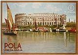 POLA VENEZIA GIULIA - 1925 - Venice Italy Travel Poster A4 Matte Finish (210 x 297mm)