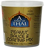 A Taste of Thai Peanut Sauce Mix, 24-Ounce Tubs (Pack of 3)