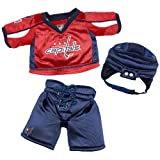 Build a Bear Workshop, Washington Capitals Uniform Teddy Bear Outfit at Amazon.com