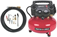 PORTER-CABLE C2002-WK Oil-Free UMC Pancake Compressor with 13-Piece Accessory Kit by PORTER-CABLE