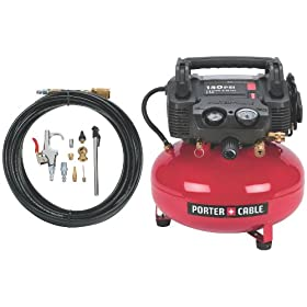 Porter Cable C2002 Wk Oil Free Umc Pancake Compressor With