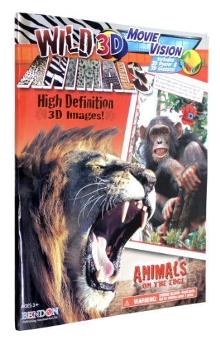BENDON Wild Animals 3D Activity Book