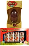 Reese's Giant Peanut Butter Easter Egg and Reese's Hershey Easter Milk Chocolate Covered Peanut Butter Reester Bunnies, 4.8-ounce Package