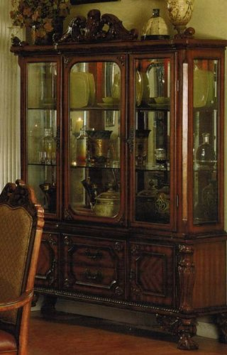 Buy low price acme furniture china cabinet buffet hutch for Acme kitchen cabinets