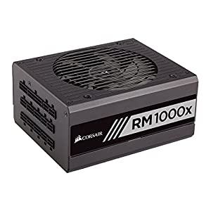 Corsair CP-9020094-UK RM1000X 1000 W ATX/EPS Fully Modular Power Supply Unit