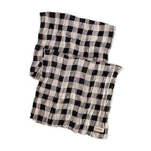 (デニム&サプライ ラルフローレン)Denim&Supply Ralph Lauren スカーフ Plaid Jagger Scarf クリーム/ブラック Cream/Black 【並行輸入品】