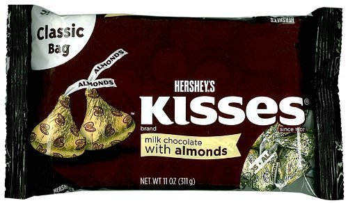 hersheys-kisses-milk-chocolate-with-almonds-11-ounce-bag-by-the-hershey-company