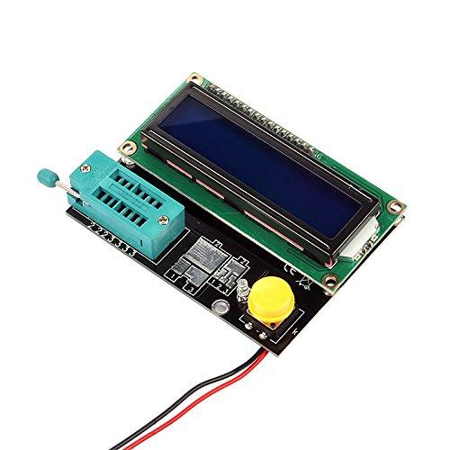 Sainsmart transistor numerique tester condensateur esr induttanza resistenza - Tester condensateur avec ohmmetre ...