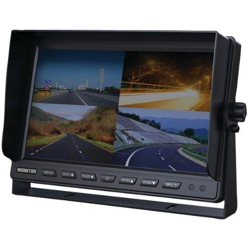 "Securview Sv-1010.Qm 10"" Quad Lcd Car Display"