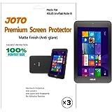 JOTO - ASUS VivoTab Note 8 Tablet (Windows 8.1) Screen Protector Film Anti Glare, Anti Fingerprint (Matte Finish) with Lifetime Replacement Warranty (M80TA) (3 Pack)