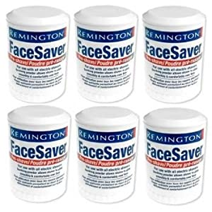 Remington SP-5 SP5 Face Saver Pre-shaver Powder Stick (6 pack)