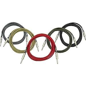 DiMarzio Instrument Cable Vintage Tweed 18 Foot