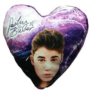 Justin Bieber Decorative Heart Cushion