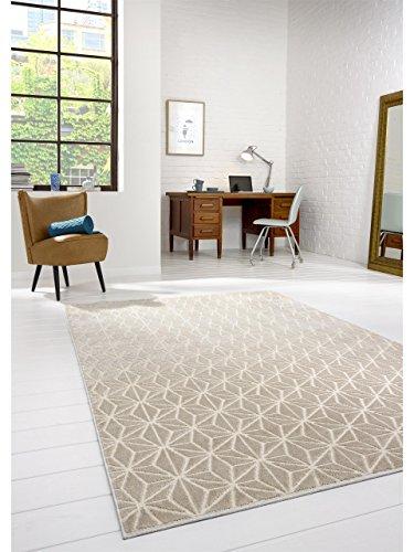 benuta Teppiche Moderner Designer Teppich Diamond Beige