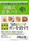 ガンが消える、ガンを予防する済陽式食事ノート