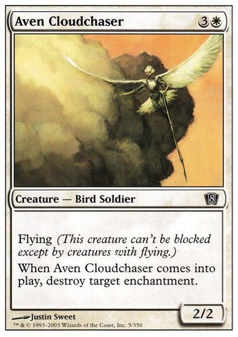 Magic: the Gathering - Aven Cloudchaser - Eighth Edition (Cloudchasers Inc compare prices)