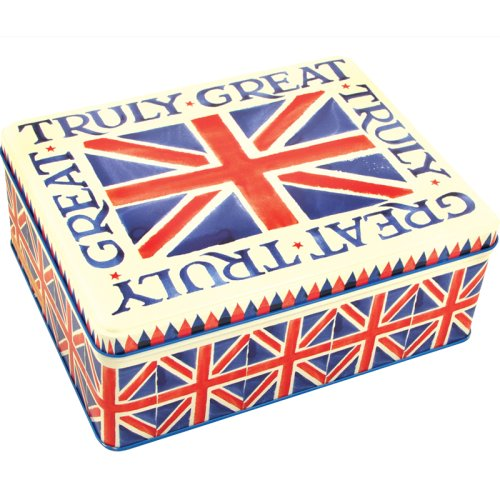 Emma Bridgewater Union Jack Deep Rectangular Tin