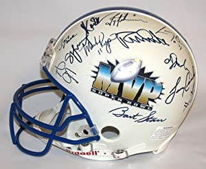 1966-96 Super Bowl MVP Autographed Helmet Jim Plunkett Raiders (Oakland)... by Touchdown Treasures