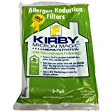 Kirby Part#204808 - Genuine Kirby Style F HEPA Filtration Vacuum Bags for Sentria Models - 6/Package, Sentria, for units built on 2009 and later.