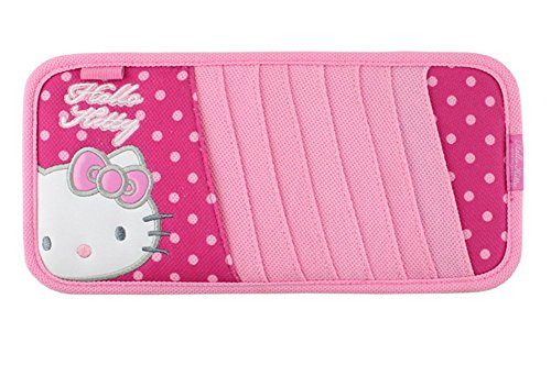 Finex Hello Kitty Polka Dot Car CD Visor Organizer polkadot (Hello Kitty Cd Car compare prices)