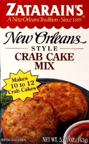 Zatarain's Mix Crab Cake 5.75 OZ