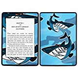 Diabloskinz Vinyl Adhesive Skin Decal Sticker for Amazon Kindle Paperwhite - Sharks