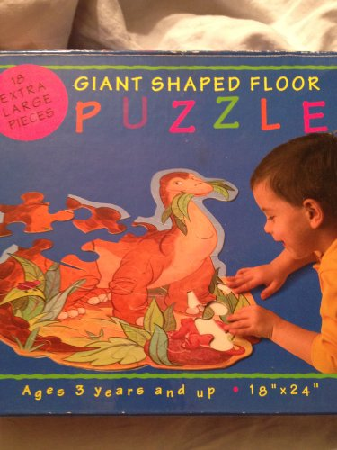 GIANT Dino Shaped Floor Puzzle