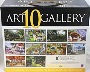 Art 10 Gallery Deluxe Jigsaw 5600 piece Puzzles (yellow)