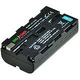 ChiliPower Sony NP-F330, NP-F530, NP-F550, NP-F570 Batterie (2400mAh) pour Sony CCD-RV100, CCD-RV200, CCD-SC5, CCD-SC6, CCD-SC55, CCD-SC65, CCD-TRV66, CCD-TRV67, DCM-M1, DCR-SC100, DCR-TR7, DSC-CD250, DSC-CD400, DSC-D700, DSC-D770, D-V500, EVO-250, GV-A100, GV-A500, HDR-AX2000, HDR-FX7, HDR-FX1000, HVR-M10P, HVR-M10U, HVR-V1J, HVR-V1U, HVR-Z7U, HXR-NX5U