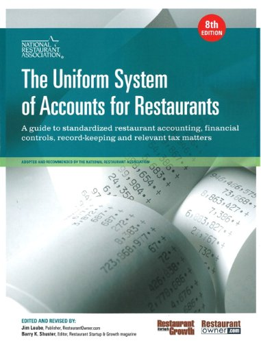 Uniform System of Accounts for Restaurants, The