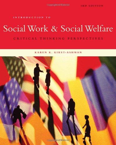 Introduction to Social Work & Social Welfare:...