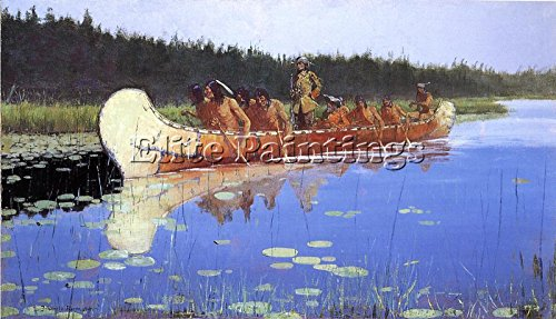 remington-frederic-radisson-groseilliers-artista-quadro-dipinto-olio-su-tela-65x120cm-alta-qualita